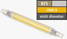 R7S LED 78 mm Lampe 400 Lumen warmweiß Lamp 78mm 4W 2900k 360° normale Bauform
