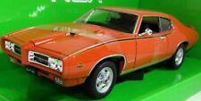 Pontiac GTO 'The Judge' 1969 - Orange, Classic Model Car 1/24