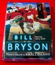Bill Bryson Notes From A Small Island 2-Tape Audio Bk Kerry Shale Great Britain