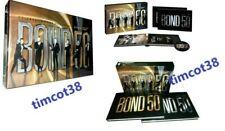 BOND : 50 CELEBRATING 5 DECADES OF JAMES BOND 007  (DVD 23-Disc Deluxe Box Set)