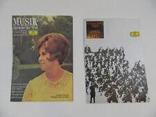 DGG Kataloge 60er Jahre Prospekte Vinyl Schallplatten H-10949