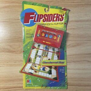 Flipsiders Checkered Flag Milton Bradley 1987 Cassette Board Game