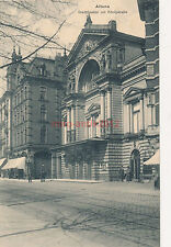 Ak, Altona, Stadttheater mit Königstraße (G)1873