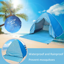 4 Persons Instant Pop Up Tent Beach Camping Fishing Sun Shelter UV Protection