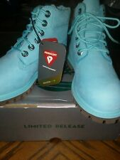 NEW Timberland Toddlers  sz 12 PREMIUM WATERPROOF BOOTS blue