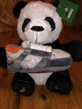 Nike SB Dunk Staple Panda Pigeon Plush Black White Toy Animal