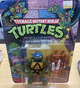 Vintage 1988 Teenage Mutant Ninja Turtles Leonardo New On Card Playmates