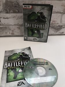 Battlefield 2: Special Forces (Windows XP) (2005) *TESTED* - With Manual