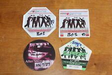 N Sync - 4 x Backstage Pass - Lot # 1  - FREE SHIPPING