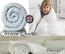 Hollowfibre corovin quilt / Duvet Single Double King 4.5 / 10.5 / 13.5 / 15 tog