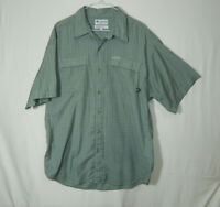 Columbia Sportswear Mens Casual Button Down Dress Shirt Size LARGE L