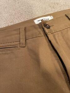 Taylor Stitch The Slim Chino In Organic British Khaki Mens Sz 33 Pants 33x35