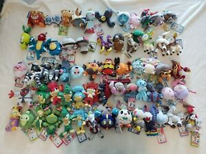 My Pokemon Collection Banpresto plush keychain PICK YOURS OVER 100 Pokemon!