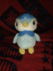 Pokemon Piplup Plush - Blue White Penguin