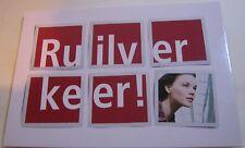 Advertising Travel tourism Ruilver Keer Thalys Belgium - unposted