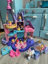 Fisher Price Little People Disney Princess Musical Castle 8 Figures & Carriage