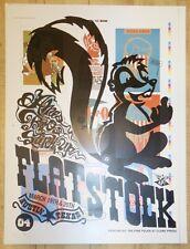 2004 Sxsw/Flatstock 4 Art Show - Silkscreen Poster by Ames Design