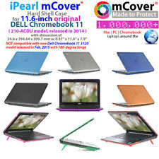 """NEW iPearl mCover® Hard Shell Case for 11.6"""" Dell Chromebook 11 210-ACDU laptop"""