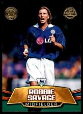 Topps Premier Gold 2002 - Leicester City Robbie Savage - LC3