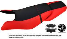 Noir & b rouge personnalisé pour seadoo gtx gti 97-01 avant + arrière vinyle housse de siège
