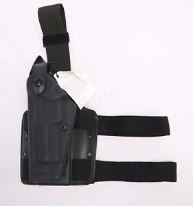 Safariland 6004-73 Tactical Drop Leg Holster LEFT HAND LH Black Beretta M92/M96