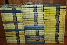 Nancy Drew lot of 1 through 56 in Hardcover (mostly yellow matte)
