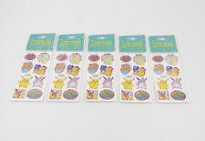 Pokémon Glitter / Glitzer Sticker / Aufkleber NEU / OVP new