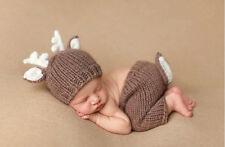 Newborn Baby Girls Boys Crochet Knit Costume Photography Photo Prop Outfits