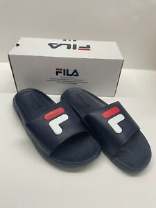 FILA Slides Energized Blue - New in box