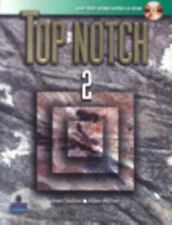 TOP NOTCH 2 with TAKE-HOME SUPER CD ROM (ALMOST MINT CONDITION) by Joan M. Saslo
