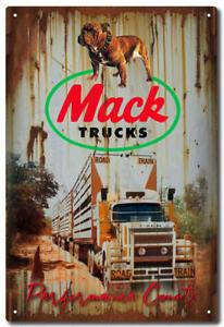 MACK TRUCK PERFORMANCE -TIN SIGN20cm * 30cm - METAL SIGN