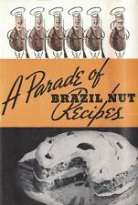 A Parade of BRAZIL Nut Recipes Small Vintage Cookbook 1950s From Soup to Nuts