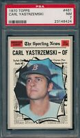 1970 Topps Set Break # 461 Carl Yastrzemski PSA 7 *OBGcards*