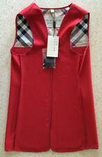 NWT Burberry Brit Women's Trench Coat Wool Liner Warmer UK 6 US 4 €195