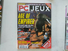 revue magazine PC JEUX n°4 Novembre 1997 : Age of empires, blade runner...