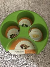 NUTRISYSTEM Meal Measure Portion Control Weight Loss Diet Divider Plate NEW