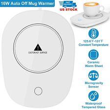 Cup Mug Warmer Coffee Tea Milk Drink Heater Pad Auto Shut Off Fit For Office