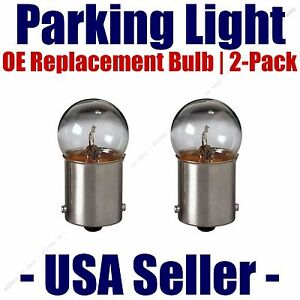 Parking Light Bulb 2-pack OE Replacement Fits Listed Toyota Vehicles - 97