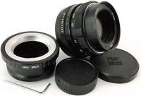HELIOS 44m Lens Micro 4/3 MFT Mount Olympus PEN E PL7 OM-D M1 M5 MARK II M10