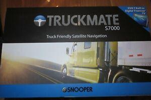 Satellite Navigation Truckmate S7000 von Snooper