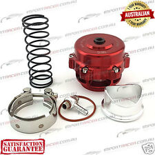 50MM V-BAND BLOW OFF VALVE BOV RED TiAL Style 1 Year Warranty