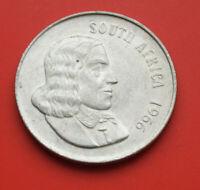 Süd Afrika 1 Rand 1966 Silber KM#71 F# 2808 SS-VF