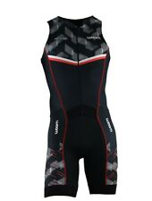 Men's Sleeveless Triathlon Suit - WOOM (Nitro) - Size 2XL