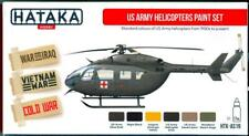 Hataka Hobby Paints U.S. Army Helicopters Acrylic Paint Set