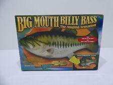 Big Mouth Billy Bass Vintage 1999 Gemmy New Nib Open Box Item