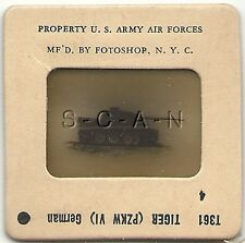 WWII US 35mm Recognition Slide Negative- Panzer- German Tank- Tiger I- 88mm- #4