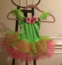 costume gallery dance costumes Girls  XSmall Pink/green Style#12133C