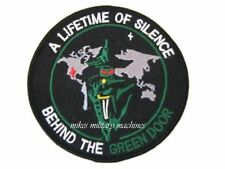 USAF Black Ops Area 51 Behind The Green Door Military Space Intelligence Patch