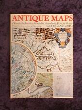 Douglas Gohm - Antique Maps HC/DJ with 167 illustrations