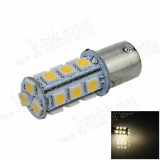 1X Warm White 1156 G18 Ba15s 18 5050 LED Turn Signal Rear Light Bulb Lamp D004